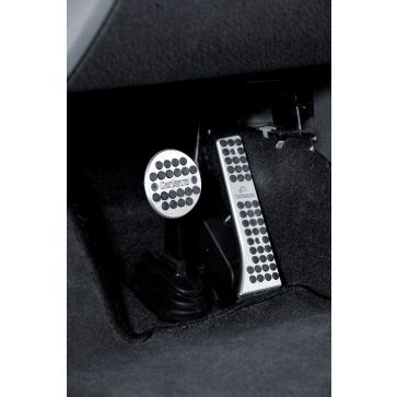 Aluminium pedal set smart 451