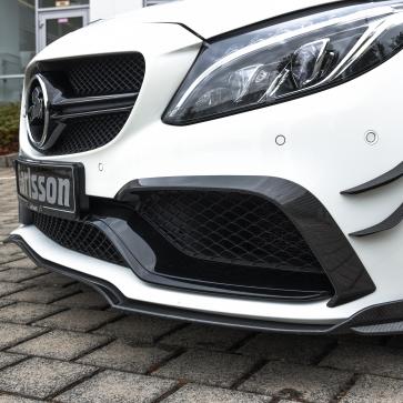 Front spoiler lip Carbon C-Class W205 (C63/C63S)