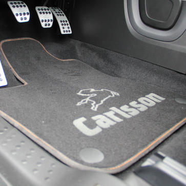 Floor mat set smart coupé/cabrio/ED/EQ 453
