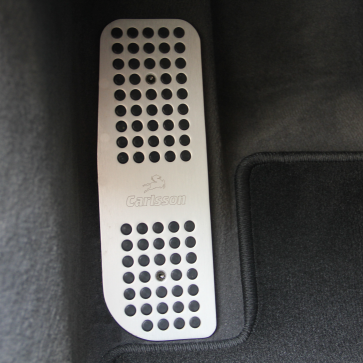Aluminum foot rest