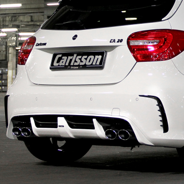 Tailpies double-oval A-Class W176 AMG 45