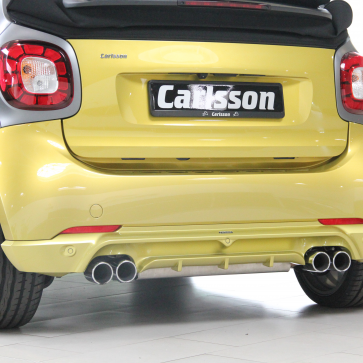 Sport rear silencer smart coupé/cabrio 453