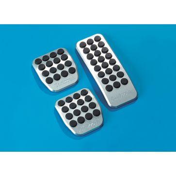 Aluminium Pedalauflagen für Schaltgetriebe