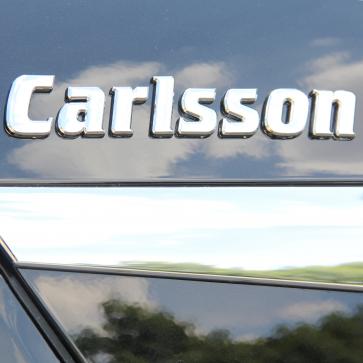 """""""Carlsson"""" Schriftzug"""