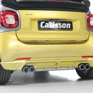 Sport-Nachschalldämpfer smart coupé/cabrio 453