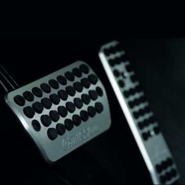 Aluminium Pedalauflagen für Automatikgetriebe